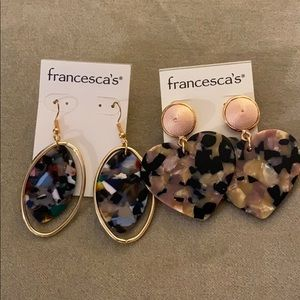 💕NWT Francesca's earnings 20 for Two pairs!